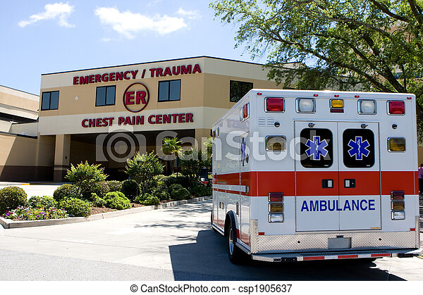 Ambulance At ER - csp1905637