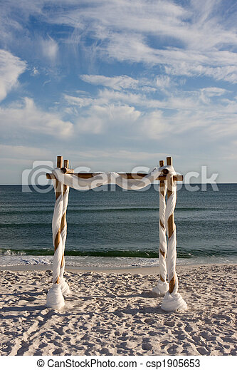 Beach Wedding Arch - csp1905653
