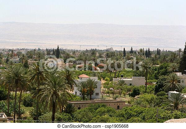 City Of Jericho, Israel - csp1905668