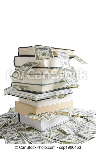 Knowledge is Money  - csp1906453