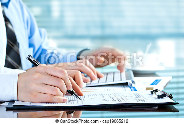 Business accounting - csp19065212