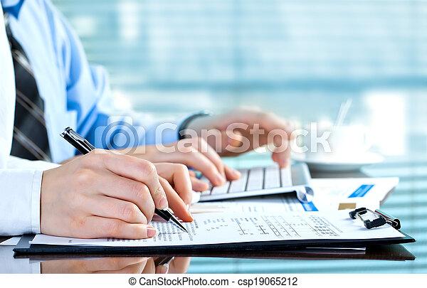 contabilidade, negócio - csp19065212