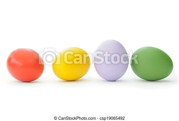 Easter eggs  - csp19065492