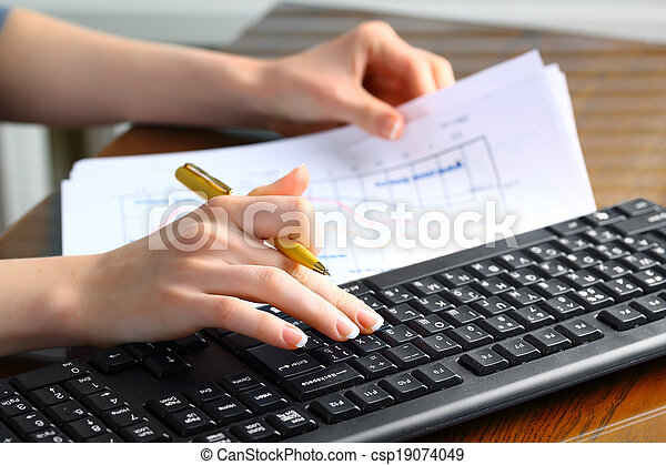 Business accounting - csp19074049