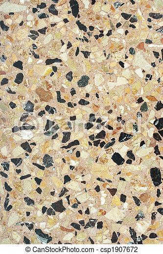 Terrazzo paving (Venice) - csp1907672