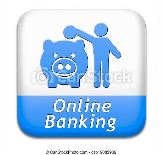 online banking - csp19083909
