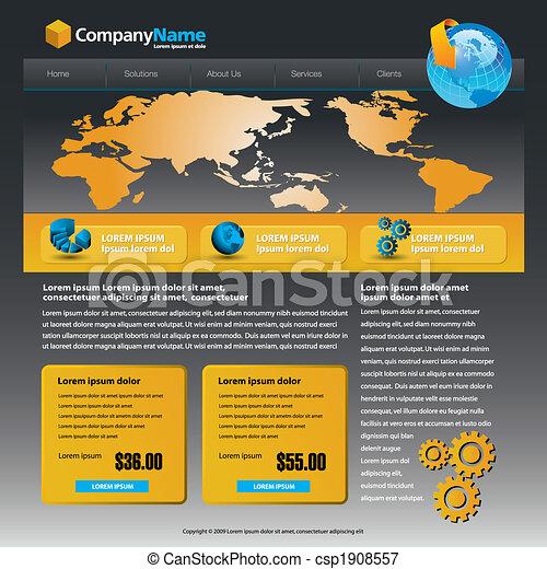 web site design - csp1908557