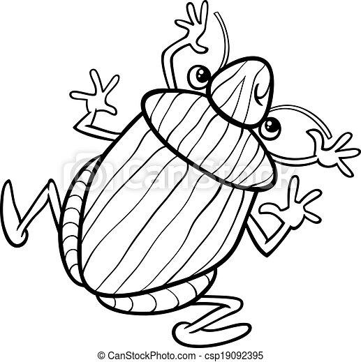 Shield Bug Drawing Vector Shield Bug Insect