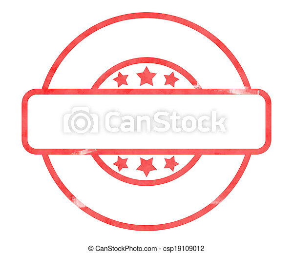 Blank Stamp - csp19109012