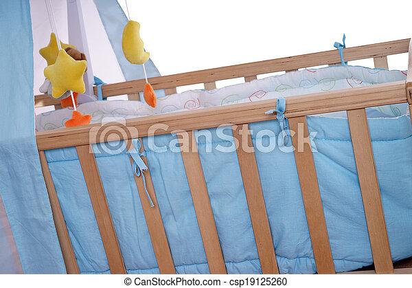 Baby cradle - csp19125260