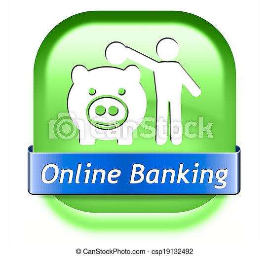 online banking - csp19132492