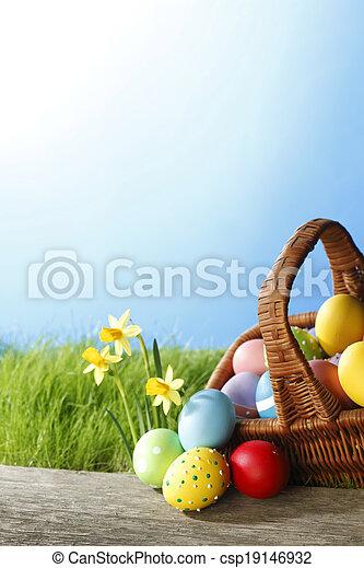 復活節, 卡片 - csp19146932