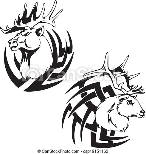 Promogiant   whitetail Deer Head Drawings 26 furthermore Depredador Venado Cabeza Tatuajes 19151162 in addition Deer Head Silhouette Clip Art besides 572307 Indian Head Logo Concept 1 0 moreover Jumping Horse Outline. on clip art deer head