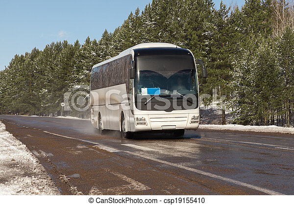 Coach on the road - csp19155410