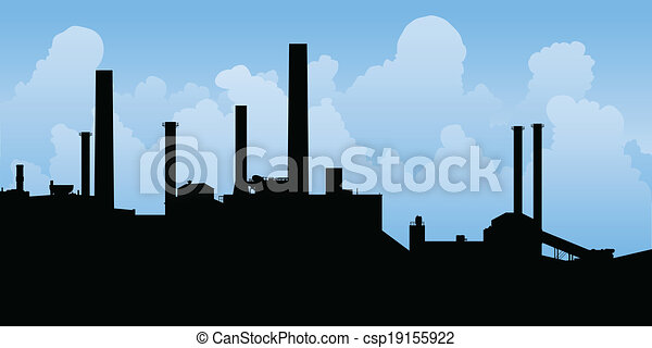 Industrial Landscape - csp19155922