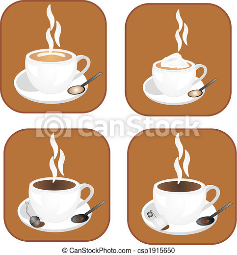 Coffee, tea icon