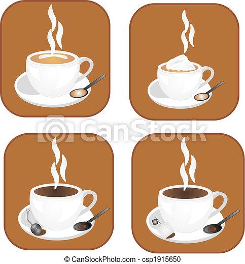Coffee,tea icons - csp1915650