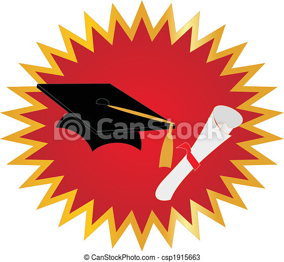 Graduation Seal - csp1915663