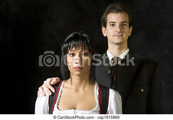 attractive couple - csp1915969