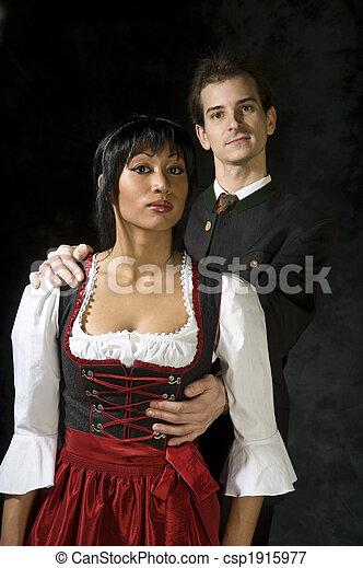 attractive couple - csp1915977
