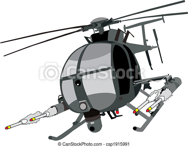 ah-6 Helicopter - csp1915991