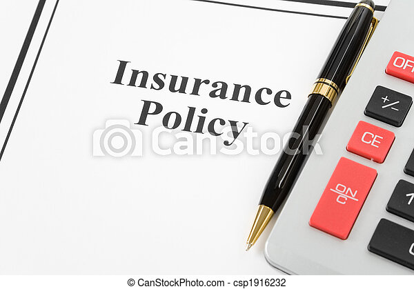 Insurance Policy - csp1916232