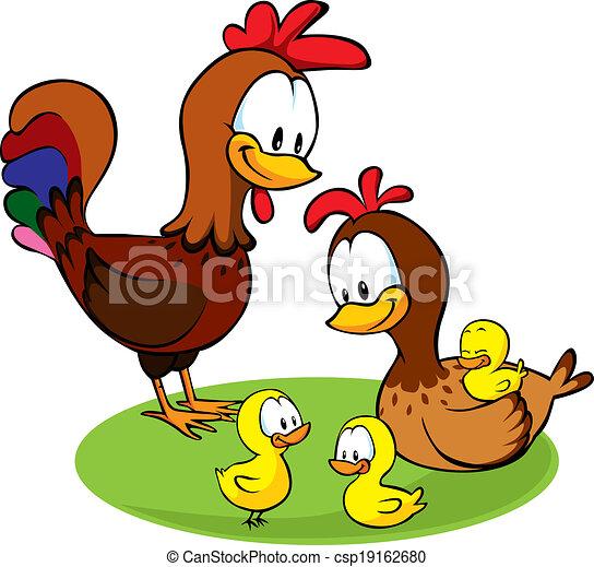 Caricaturas de pollos - Imagui