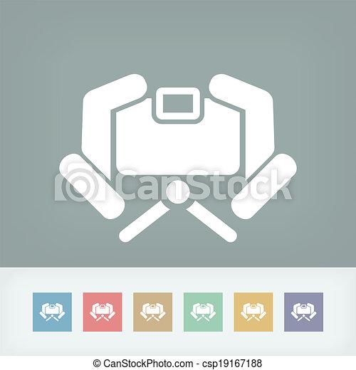 有关照相机, 图标, 概念csp19167188的矢量格式文件
