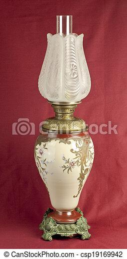Ceramic oil lamp