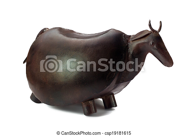 Decorative metal mammal - csp19181615
