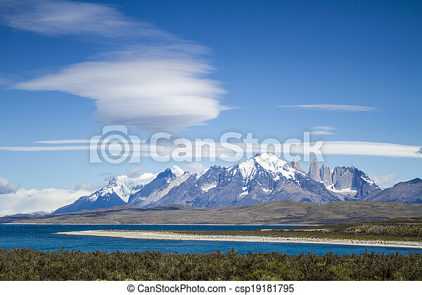 Torres del Paine National Park - csp19181795