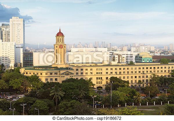 Manila City Hall, Manila - Philippines - csp19186672