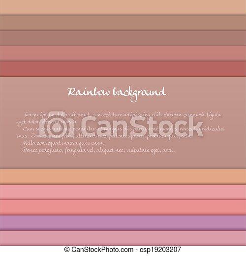 Vector Clip Art de bandera, coloreado, horizontal, rayas, pastel ...