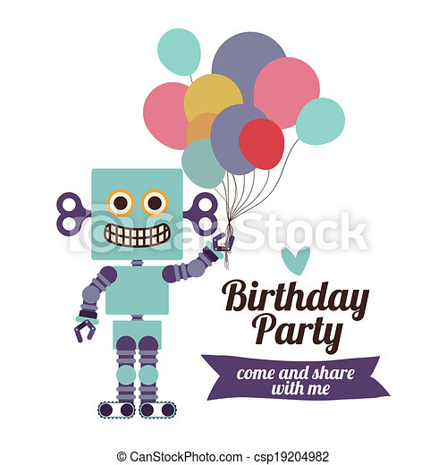 Birthday party - csp19204982