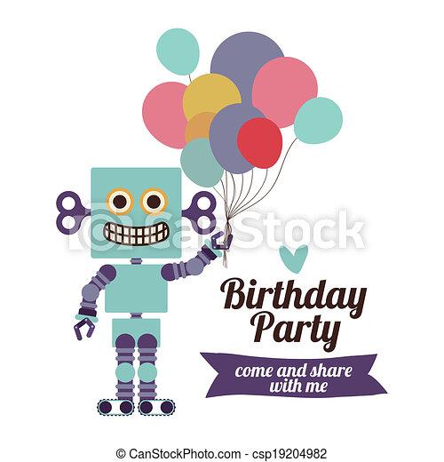 Birthday party - csp19204982