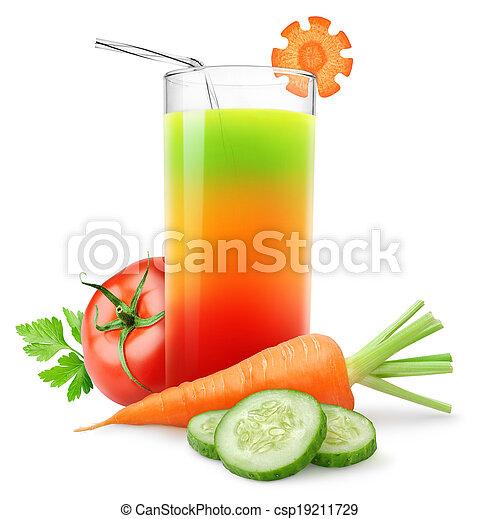 Vegetable juice - csp19211729