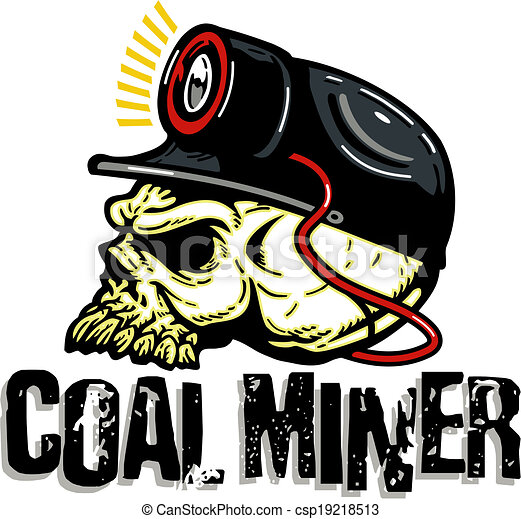 Image result for Caricature of a mean coal miner