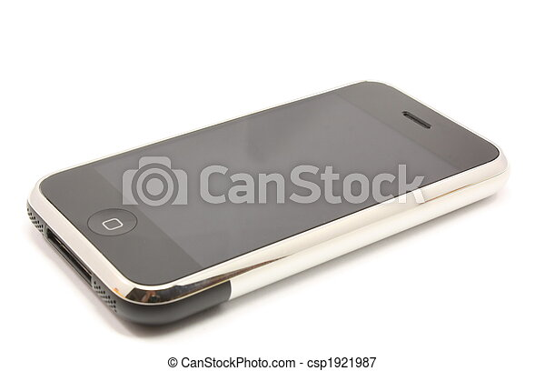 Modern touch screen phone mobile device - csp1921987