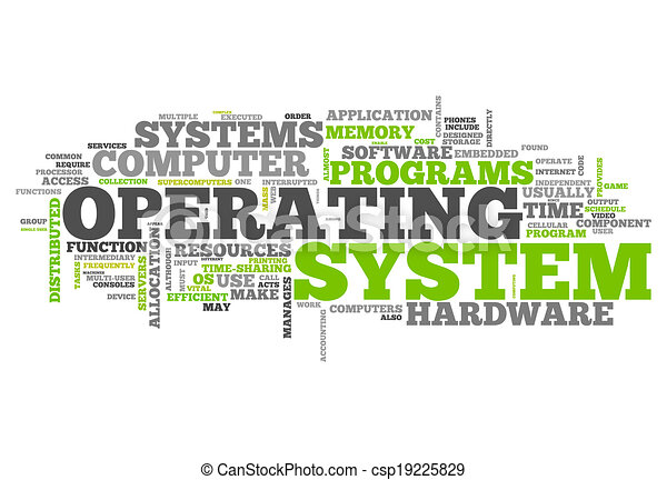Clip Art of the Operating System