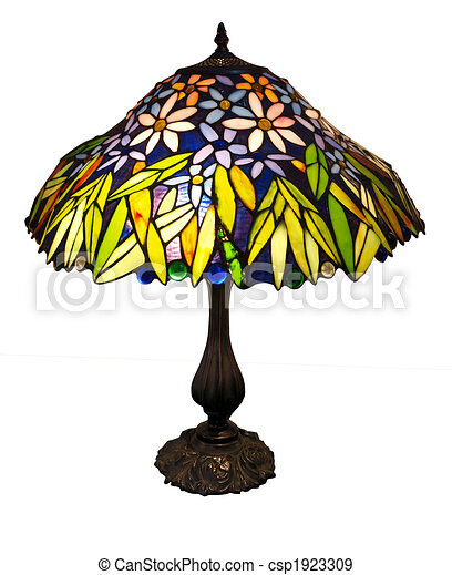 Art Deco Table Lamp - csp1923309