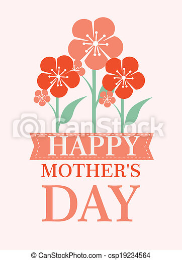 Mothers day design - csp19234564