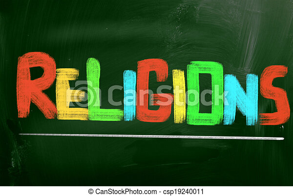 Religions Concept - csp19240011