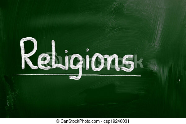 Religions Concept - csp19240031