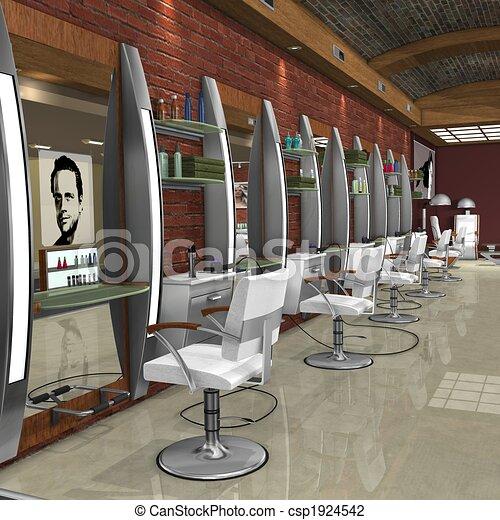 Sell Furniture on Stock Illustration   Hair Studio   Stock Illustration  Royalty Free