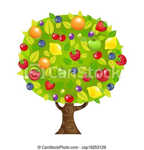 Fruit Tree - csp19253129