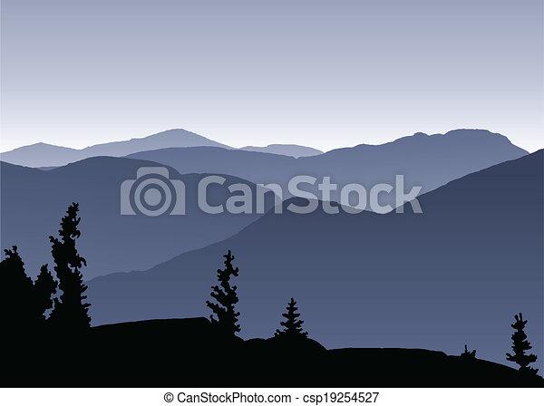 Adirondack Mountains Clip Art