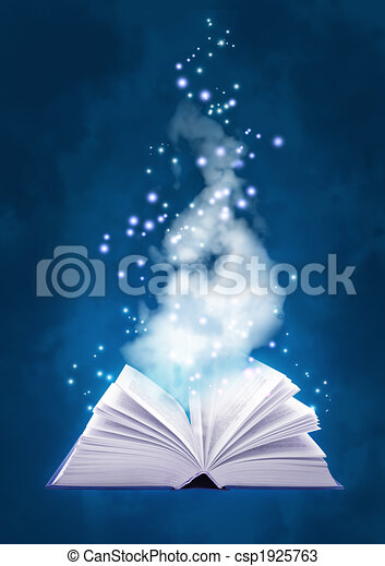 Book of air magic - csp1925763