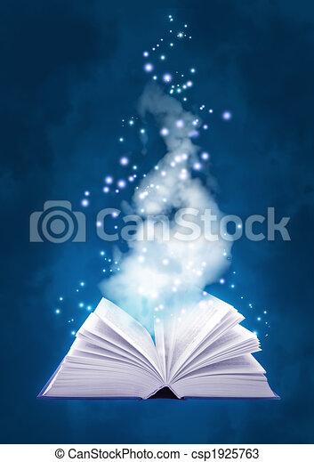 Book of air magic - csp1925763