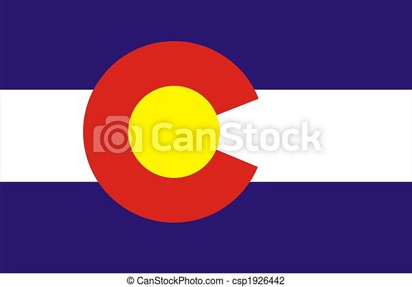 Colorado flag - csp1926442