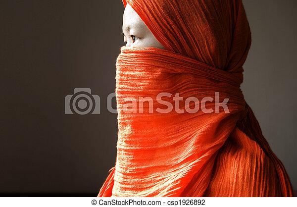 islamic, mulher - csp1926892
